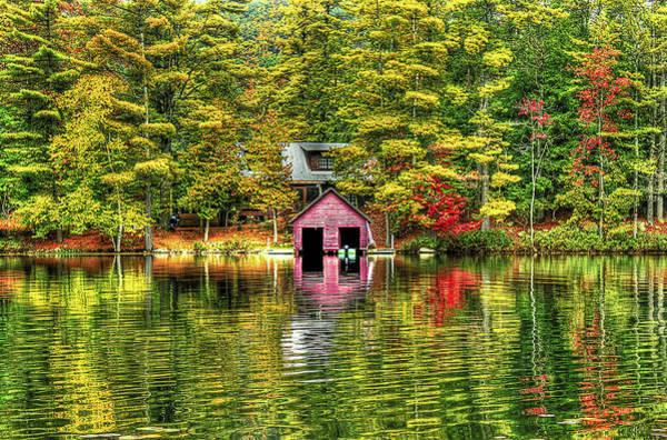 Foliage Wall Art - Photograph - Autumn Reflections by Evelina Kremsdorf
