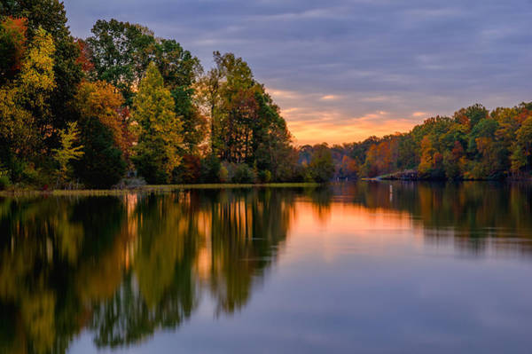 Photograph - Autumn Reflections by Lori Coleman
