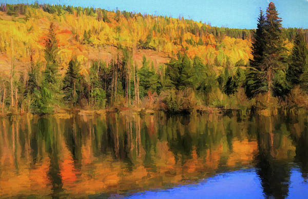 Painting - Autumn Reflections On Sprague Lake by Dan Sproul