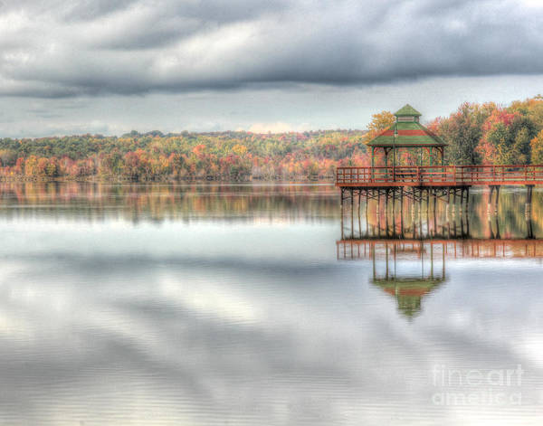 Photograph - Autumn Reflections by Rod Best
