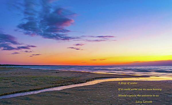 Sauble Beach Photograph - Autumn Serenity - Philosophical Musings 2 by Steve Harrington