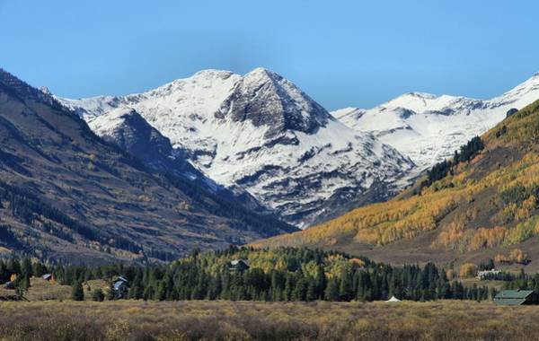 Photograph - Autumn Snow At Crested Butte Colorado by Dan Sproul