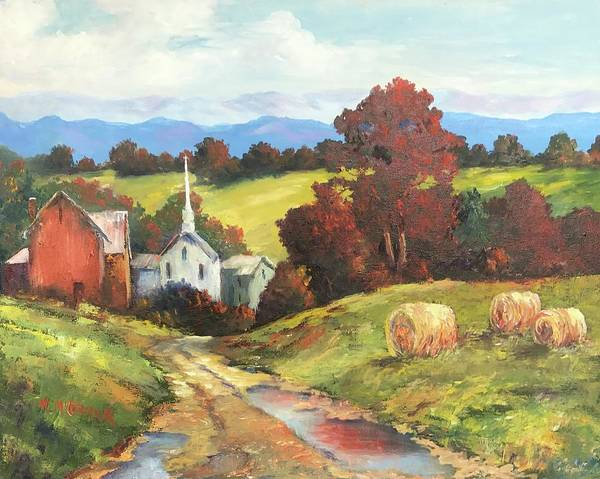 Mccormick Wall Art - Painting - Autumn Splendor by ML McCormick
