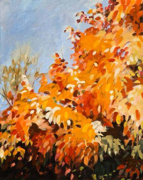 Painting - Autumn Splendor by Outre Art  Natalie Eisen