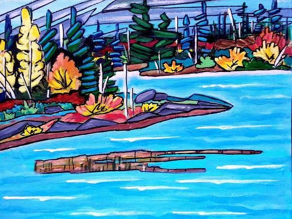 Painting - Autumn Splendor Revised by Nikki Dalton
