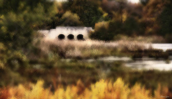 Photograph - Autumn Stone Bridge by Anna Louise