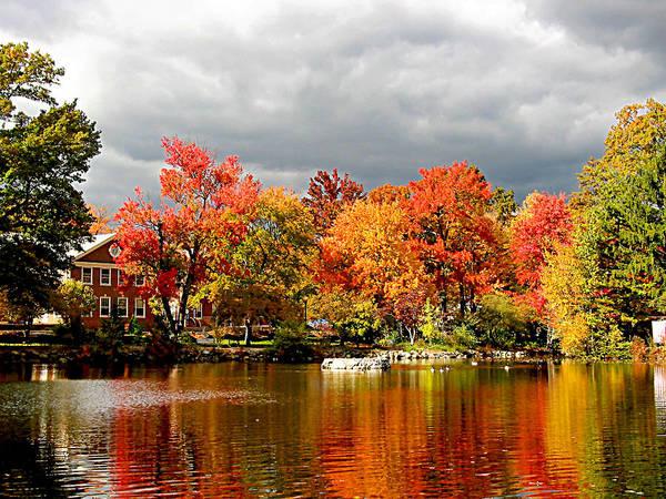 Photograph - Autumn Storm Coming by Susan Savad