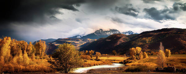 San Juan Mountains Photograph - Autumn Stream In Colorado by Andrew Soundarajan