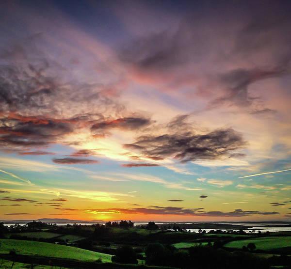 Photograph - Autumn Sunrise At Crovraghan by James Truett
