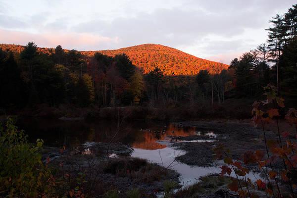 Photograph - Autumn Sunrise At The Lake by Nancy De Flon