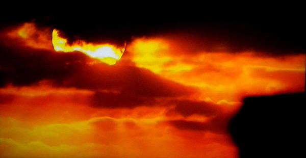Photograph - Autumn Sunset Denmark  by Colette V Hera  Guggenheim