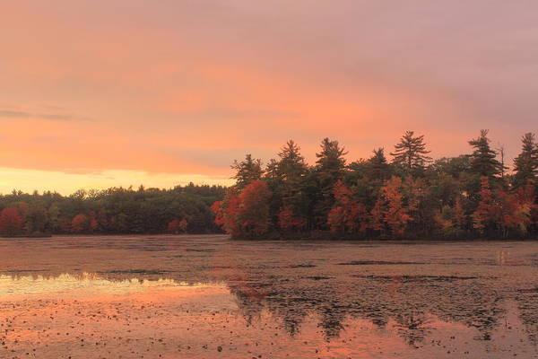 Wall Art - Photograph - Autumn Sunset by John Burk