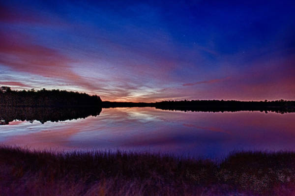 Photograph - Autumn Sunset by Louis Dallara