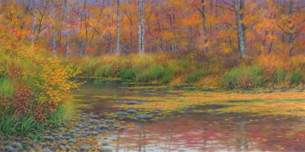 Wall Art - Painting - Autumn Symphony by Barry DeBaun