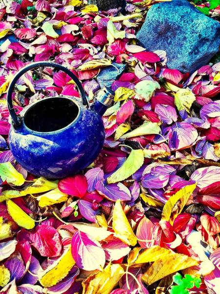 Autumn Tea Art Print
