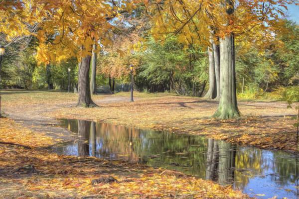 Autumn Tranquility Art Print by Zev Steinhardt