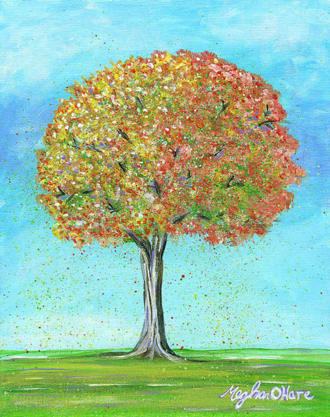 Painting - Autumn Tree by Meghan OHare