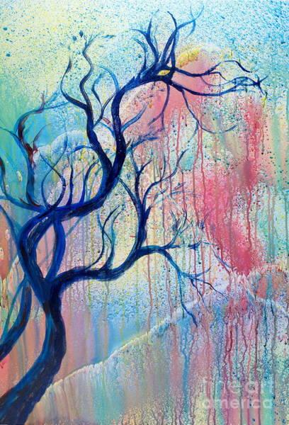 Painting - Autumn Tree by Walt Brodis