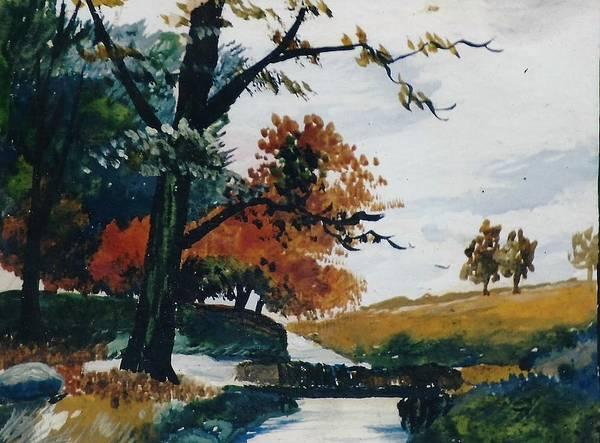 Autumn View Art Print