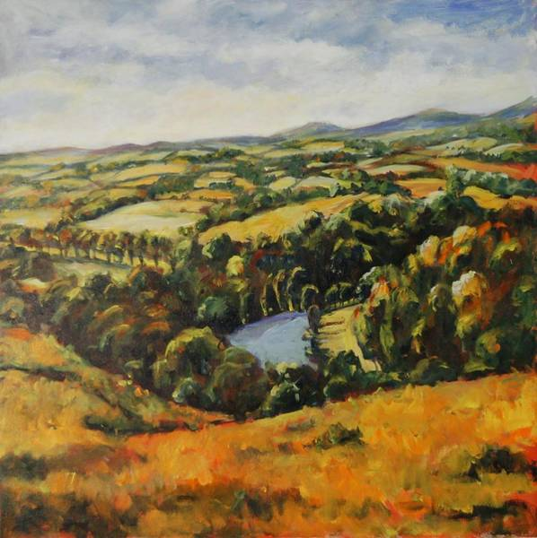 Autumn Vista Art Print
