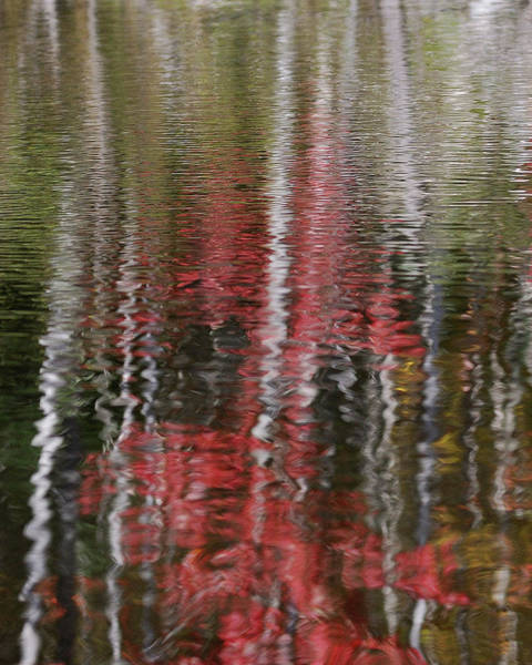 Impressionistic Photograph - Autumn Water Color by Susan Capuano