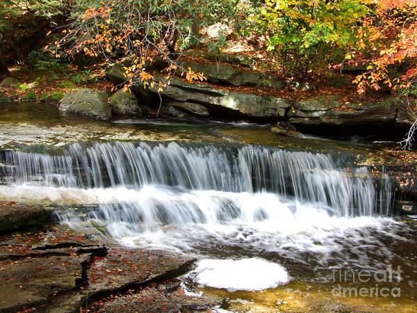 Photograph - Autumn Waterfall Photograph by Kristen Fox