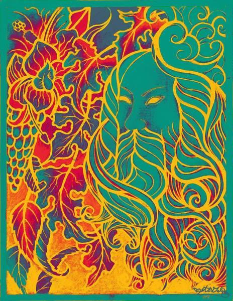 Jade Mixed Media - Autumn Wind by Alberto Galvez