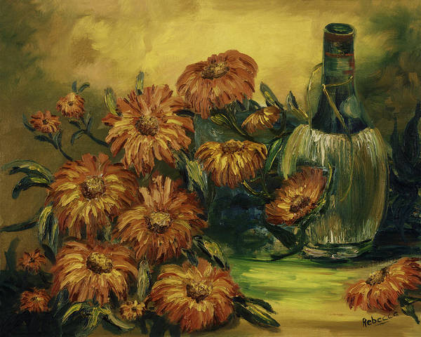 Painting - Autumn Wine by Rebecca Kimbel