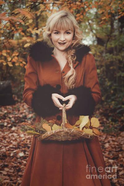 Wall Art - Photograph - Autumn Woodland by Amanda Elwell