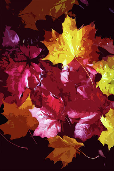 Painting - Autumnal Carpet by Andrea Mazzocchetti