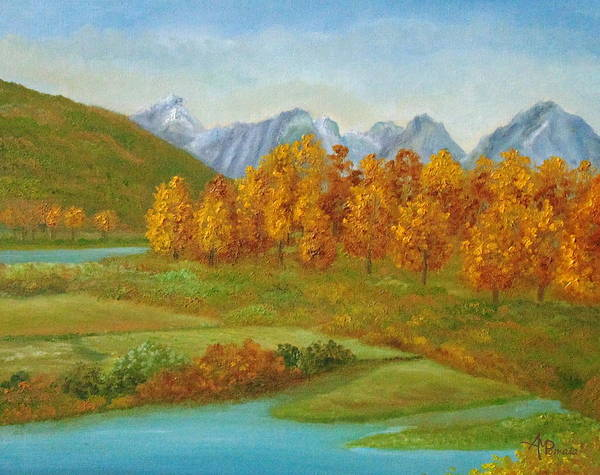 Painting - Autumnal Colors by Angeles M Pomata