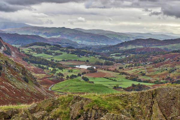 Wall Art - Photograph - Autumnal Cumbria. by Angela Aird