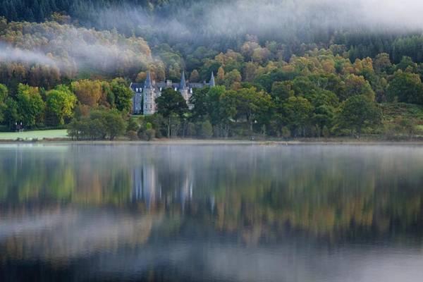 Photograph - Autumnal Dawn On Loch Achray by Stephen Taylor