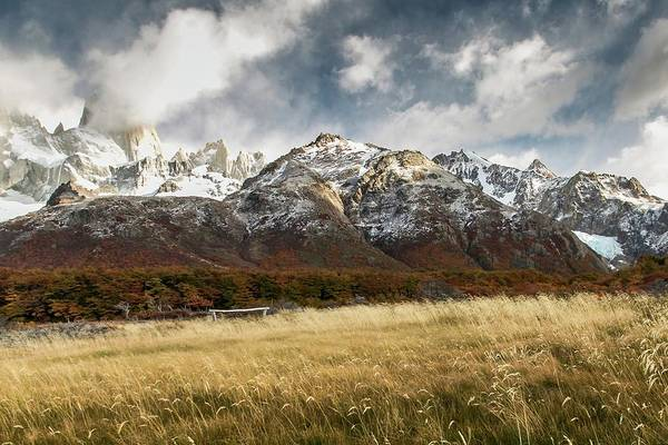 Patagonia Photograph - Autumnal Fields by Ryan Weddle