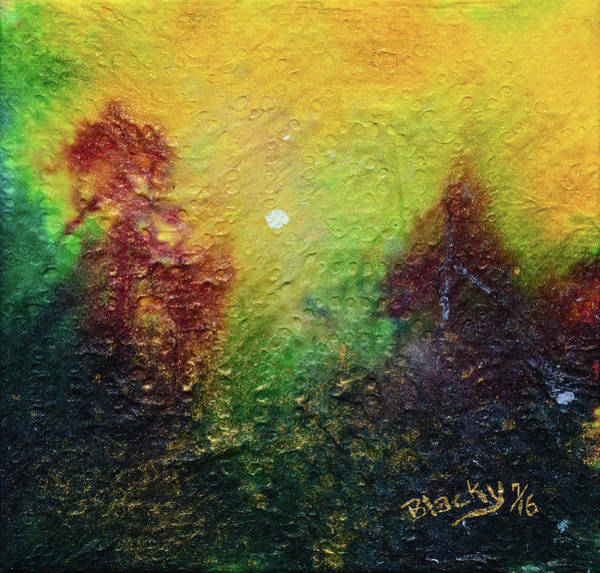 Wall Art - Painting - Autumnal Mystery by Donna Blackhall