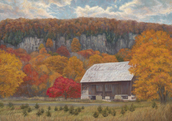 Wall Art - Painting - Autumn's Majesty by Lucie Bilodeau