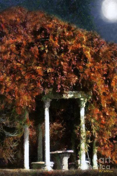 Painting - Autumn's Temple by RC DeWinter