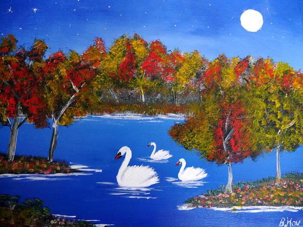 Painting - Autumntale by Bernd Hau