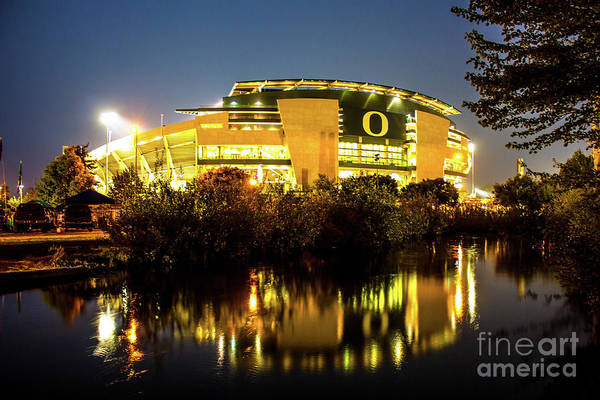 Photograph - Autzen 2017-3 by Michael Cross