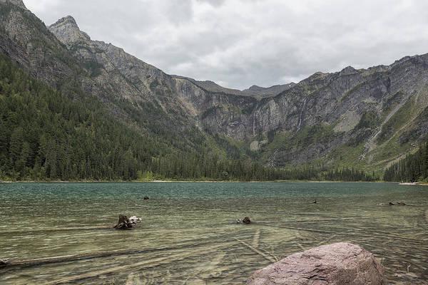 Photograph - Avalanche Lake No. 2 - Glacier Np by Belinda Greb