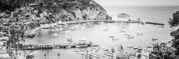 Wall Art - Photograph - Avalon California Panoramic Picture Of Catalina Island by Paul Velgos