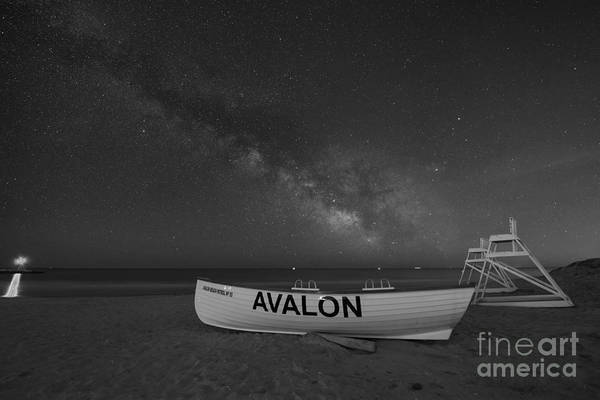 Avalon Wall Art - Photograph - Avalon Milky Way Bw by Michael Ver Sprill