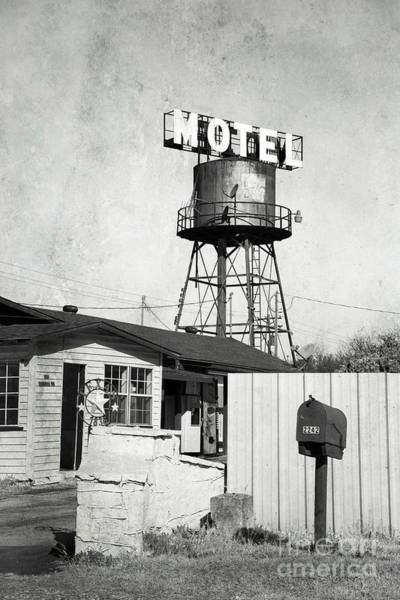 Photograph - Avalon Motel by Elena Nosyreva