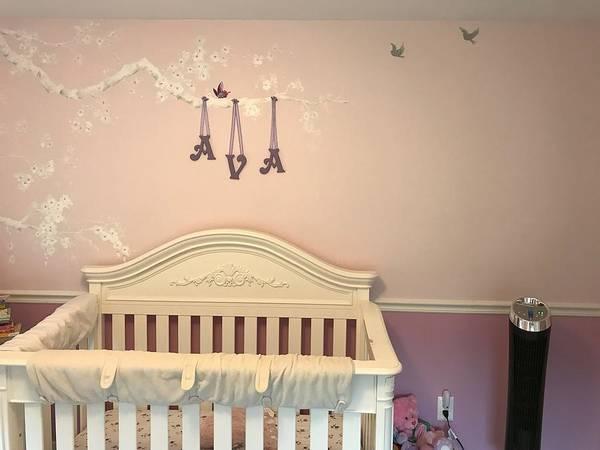Wall Art - Painting - Avas Room by Laura Lee Zanghetti