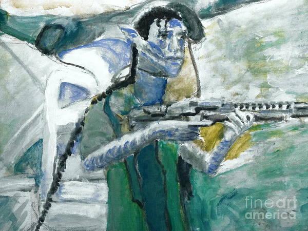 Painting - Avatar 3 by Stanley Morganstein