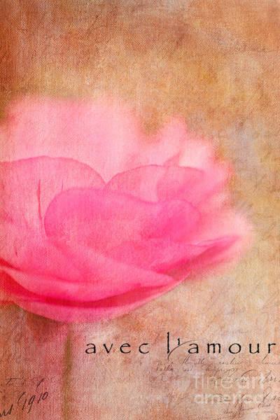 Photograph - Avec L'amour by Beve Brown-Clark Photography