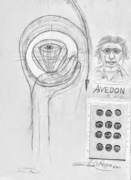 Mixed Media - Avedon Master Of The Lens by Edward Longo