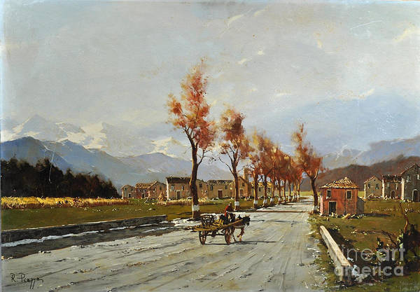 Painting - Avellino's Landscape  by Rosario Piazza