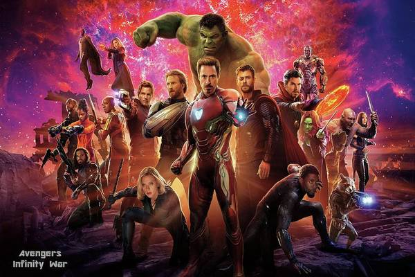 Wall Art - Mixed Media - Avengers Infinity War by Movie Poster Prints