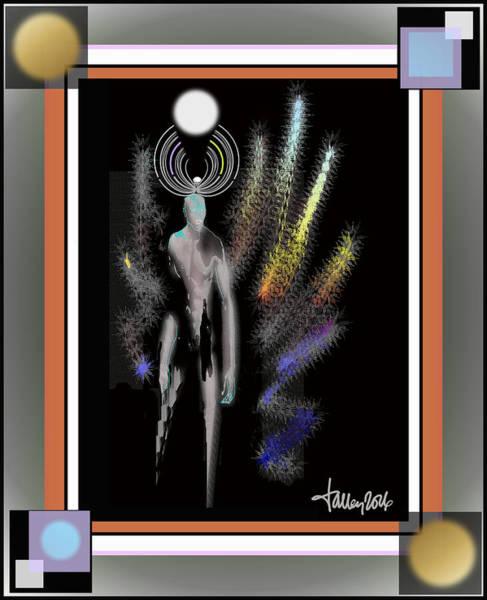 Digital Art - Avenging Angel by Larry Talley